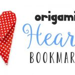 Hướng dẫn cách gấp Bookmark hình trái tim bằng giấy Origami