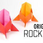 Hướng dẫn gấp tên lửa vũ trụ kiểu vũ trụ Origami
