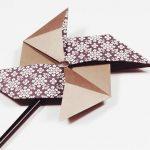 4 Bước đơn giản để gấp chong chóng bằng giấy Origami