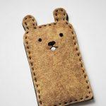 Cách làm bao đựng iphone hình con gấu dễ thương