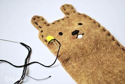bao đựng iphone hình con gấu