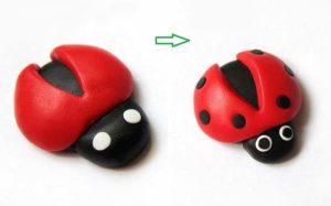 cách làm bọ hung bằng đất sét nhật handmade