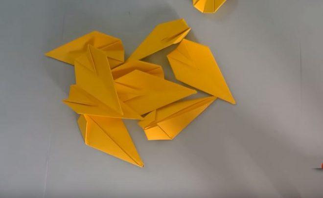 cách làm bông hoa sen bằng giấy