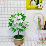 Cách làm chậu hoa vải xinh xắn cho căn phòng