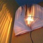 Hướng dẫn làm đèn treo bằng cuốn sổ tay
