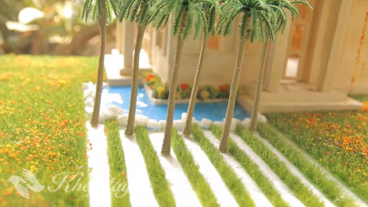 cách làm hồ bơi cho nhà mô hình