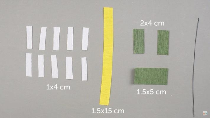 cách làm hoa cúc bằng giấy