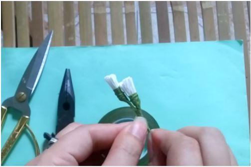 cách làm hoa salem đơn giản từ giấy