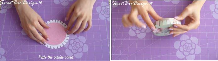 cách làm hộp quà từ lõi giấy
