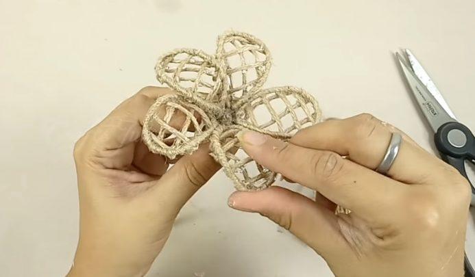 cách làm lọ hoa mini trang trí