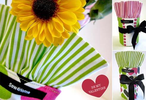 cách làm lọ hoa tặng người yêu