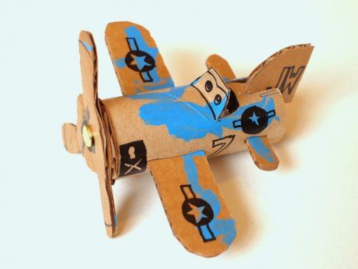 cách làm báy bay bằng giấy