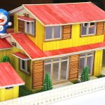 Hướng dẫn làm nhà nobita và doraemon bằng que kem cực dễ