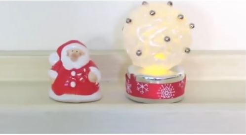 cách làm quả cầu đèn led