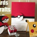 Cách làm thiệp sinh nhật Pikachu và Pokemon