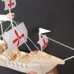 Cách làm thuyền đồ chơi từ que kem gỗ
