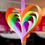 Cách làm trái tim dễ thương bằng giấy thủ công
