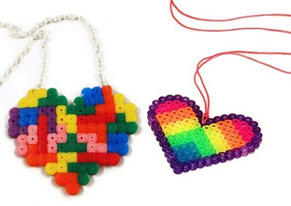cách làm trang sức hình trái tim