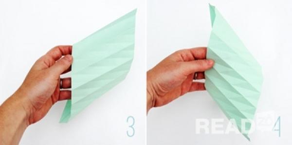 cách gấp lồng đèn trung thu bằng giấy
