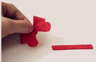 cách làm dây buộc tóc