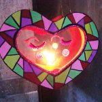 Hướng dẫn làm đèn lồng giấy hình trái tim