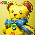 Hướng dẫn làm gấu bông từ vải nỉ cho bé
