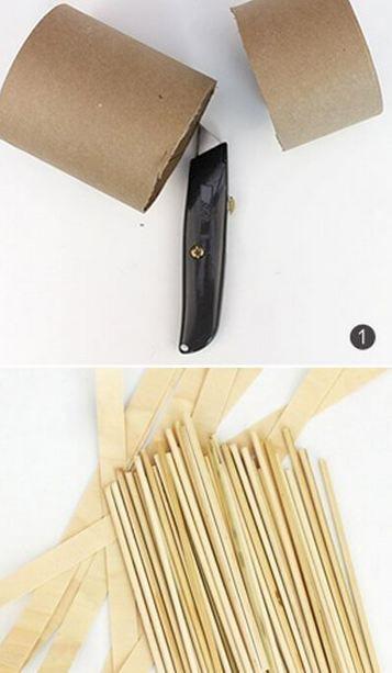 cách làm giỏ đựng đồ bằng giấy