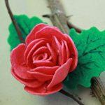Hướng dẫn làm hoa hồng bằng vải nỉ cực đơn giản