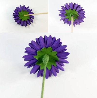 cách làm hoa thược dược bằng giấy