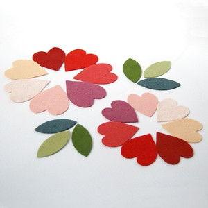 cách làm hoa vải với lọ thủy tinh tuyệt đẹp
