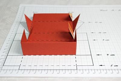 cách làm hộp đựng bánh trung thu