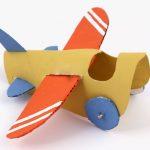 Hướng dẫn làm máy bay mô hình từ lõi giấy
