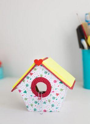 làm ngôi nhà bằng giấy độc đáo