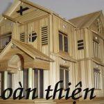 Hướng dẫn làm nhà bằng tăm tre cực kì đơn giản