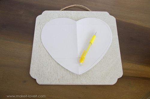 cách làm quà hình trái tim