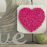Hướng dẫn làm quà tặng bạn gái hình trái tim