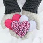 Hướng dẫn làm hình trái tim xinh xắn bằng bàn tay