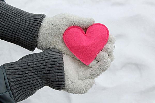 cách làm trái tim nhỏ xinh xắn