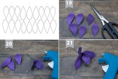 cách làm trang 3d bằng giấy