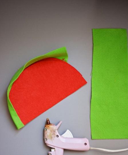 làm túi xách bằng vải nỉ