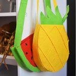 Hướng dẫn làm túi xách bằng vải nỉ hình hoa quả