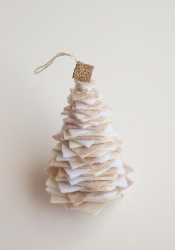cách làm cây thông noel bằng vải