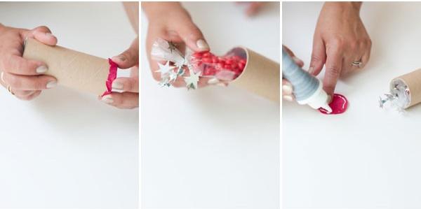 Cách làm pháo giấy trang trí