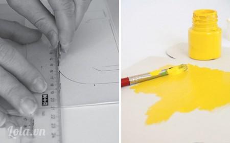 cách làm hộp thư bằng giấy