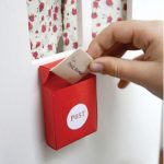 Hướng dẫn làm hộp đựng thư post bằng giấy