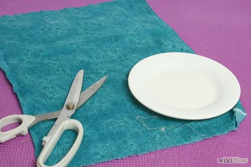 cách làm chậu cây mini bằng vải