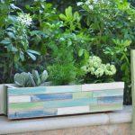 Cách làm chậu cây gỗ cho ngôi nhà thêm xanh mát