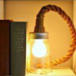 Cách trang trí bóng đèn học bằng dây thừng