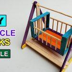 Cách làm đồ chơi em bé bằng que kem gỗ