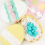 Hướng dẫn làm hộp quà hình quả trứng tặng người yêu